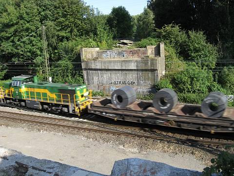 Blick auf die Gleise